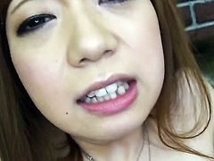 Mami Masaki kills time dildoing her love tunnel for cam