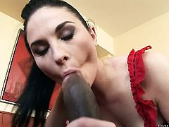 Kid Jamaica touches the hottest parts of ultra hot Alma Blues body after he fucks her bum hole