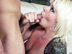 Will Powers wants to bang passionate Missy Monroes sweet mouth forever