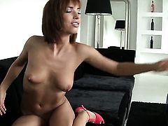 David Perry gets his always hard man meat used by anal-loving Tina Hot after she gets her throat banged
