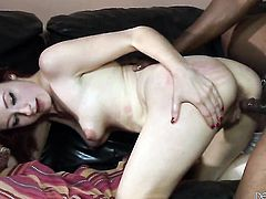 Violet Monroe having unthinkable interracial sex