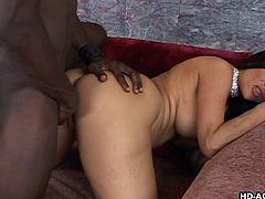 Really hot mature slutmom can't lose portion of really good fat dark meat inside her mouth and pussy. Her perfect lips are sucking his cock, preparing it for final insertion into her warm pussy and he will do it, making her big beautiful tits bouncing under the frictions.