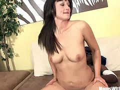 Housewife santina Marie have the house alone for two days while her husband is on a business trip. She gets fucked hard and deep by a black cock homer service she ordered to satify her sexual hunger while the husband is out.