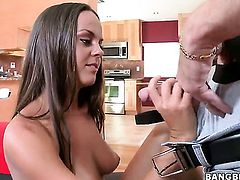 Lyla Storm fucked hard by a big black cock