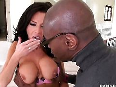 Veronica Avluv is with a black dude