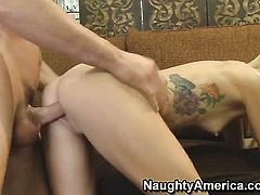 Monique Alexander is about to get orgasm after taking Charles Deras rock solid man meat deep in her muff pie