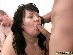 extreme fisting sex orgy with fat big natural scandinavian stepmom