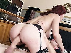 Tiffany Mynx fucking like it aint no thing in anal sex action with hot fuck buddy Danny D before cock sucking