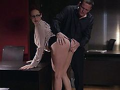 Breasty Pornstar With Admirable Gazoo Getting Fucked Hardcore In The Office