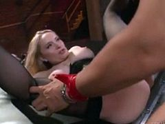 Fetish fuck on a table