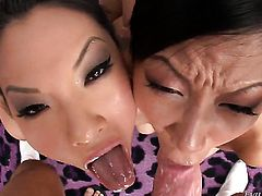 Tia Ling wants him shove his cock in her fuck hole over and over again
