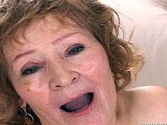 This is one helluva horny granny. One penis is not enough for her, but she needs multiple cocks. And if it happens, when there are some big black dicks involved, its even better. You just have to love grandmas like her. Slutty and old, but still full of energy and willing to take all those dongs!