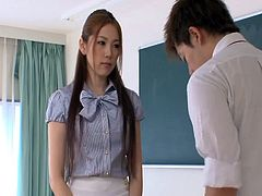 Asami Ogawa is the hottest teacher who deserves to be banged hard