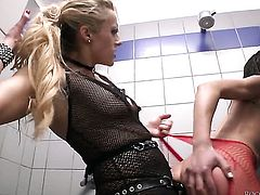 Brittany Bardot gets some in steamy anal session with Rocco Siffredi after she gets her throat drilled