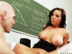 Brandy Aniston and her hard dicked fuck buddy Johnny Sins have a lot of sexual energy to spend