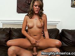 Ella Milano is on fire in sex action with hot bang buddy Ramon Nomar