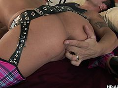 Kirsten and her new lover share the same lusty desires and seem to complete each other in bed. See the blonde milf sucking dick and riding it. This versed slut also enjoys to be fucked sideways. Click to watch the hardcore details and have fun!