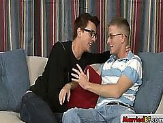 Married stud in steamy homosexual sex by marriedbf