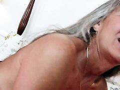 Leilani Lei loses control after Marco Banderas sticks his meat pole in her mouth