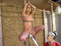 Jenni Lee Dominated By lesbo inside tied around Ropes mov