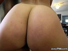 Bootylicious Chick Kelsi Monroe Flaunts Her Assets