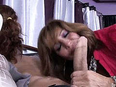 Tara Holiday gives it to hot fuck buddy