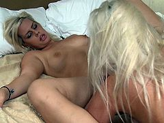 Vivacious lesbian with a beautiful tattooed body getting her pussy fingered