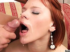 Brooke Scott cant wait to be interracially pounded by her horny man
