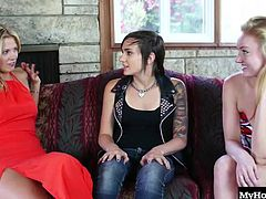 Dynamite, Nikki Adam and Scarlet Red
