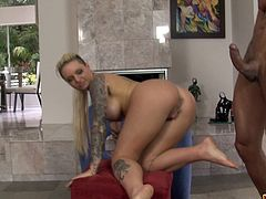 Christy Mack is blonde and naughty in a great fuck scene