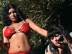 Shelly Martinez &fearsome Jewel DeNyle Fetish Movie