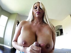 Kevin Moore makes dudes meat pole harder before getting her pussy dicked