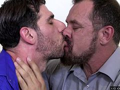 There was just something about Max, that had Tony enthralled. Tony knew that Max was going to be his daddy and when daddy wanted some loving, what else could he do but give? He spreads his legs and gives up that ass for his horny daddy.