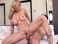 Julia Ann Fucks Young Stud.