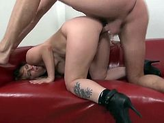 Hot milf and her younger lover 236