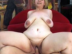 Mature BBW blonde Adele writes a hard cock