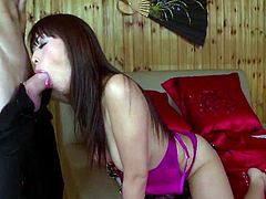 Marica Hase has been having sex for so long, that her sweet Asian pussy has taken a back seat during fucking so dudes can experience a more tight hole. She screams and moans while her anus gets stretched out by big white dicks like Marcos here, but she loves rubbing her clit while they penetrate her, and feeling the cum splatter all over her stretched out skin.