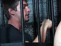 deepthroat behind the bars