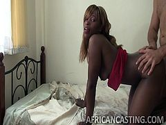 For the first time here, in Africa, I met a woman, that without any complaining agreed to give me her asshole for the fuck. And you know what, she had the best black bubble butt, I've ever met. Watch me drilling this chocolate rear, while slapping her buttocks. Have fun and enjoy the exciting details!