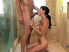 Hawt!threatening!fearsome!fearsome Dark Brown Zoe Voss Nuru Shower Sloppy Oral-Job and Irrumation Cr