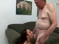 Khloe Kush with an old man