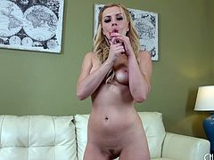 Lexi Belle fucked in a pair of sexy green stockings