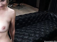 Blonde exotic Ike Diezel with phat ass and hairless beaver just loves to fuck and cant say No to hard cocked dude