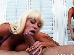 Blonde chicana with bubbly ass and bald pussy gets a pussy slamming