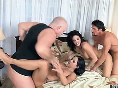 Jewels Jade takes dudes stiff tool deep in her mouth