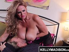 KELLY MADISON Huge Naturals Make Him Cum 4 Times