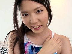 Armpit fetish lovers shouldn't miss this video. Her naughty boyfriend cleaned and licked Nanami Endo's hairy armpits and she seduced him, by wearing titillating costume. She got on to her knees and tasted his cock. He got out of control and...