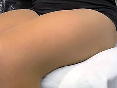 crossdresser pantyhose legs black mini 159