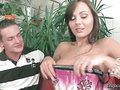 Joyce Angel is just desperate for sex in this steamy fuck session