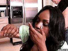 Jada Fire feels good with erect fuck stick in her mouth